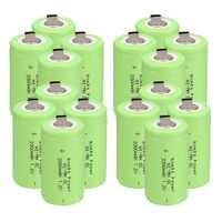 Potencia anmas 2-16 Uds Color verde SC 3300mAh SC C Ni-MH celular batería recargable de 1,2 V