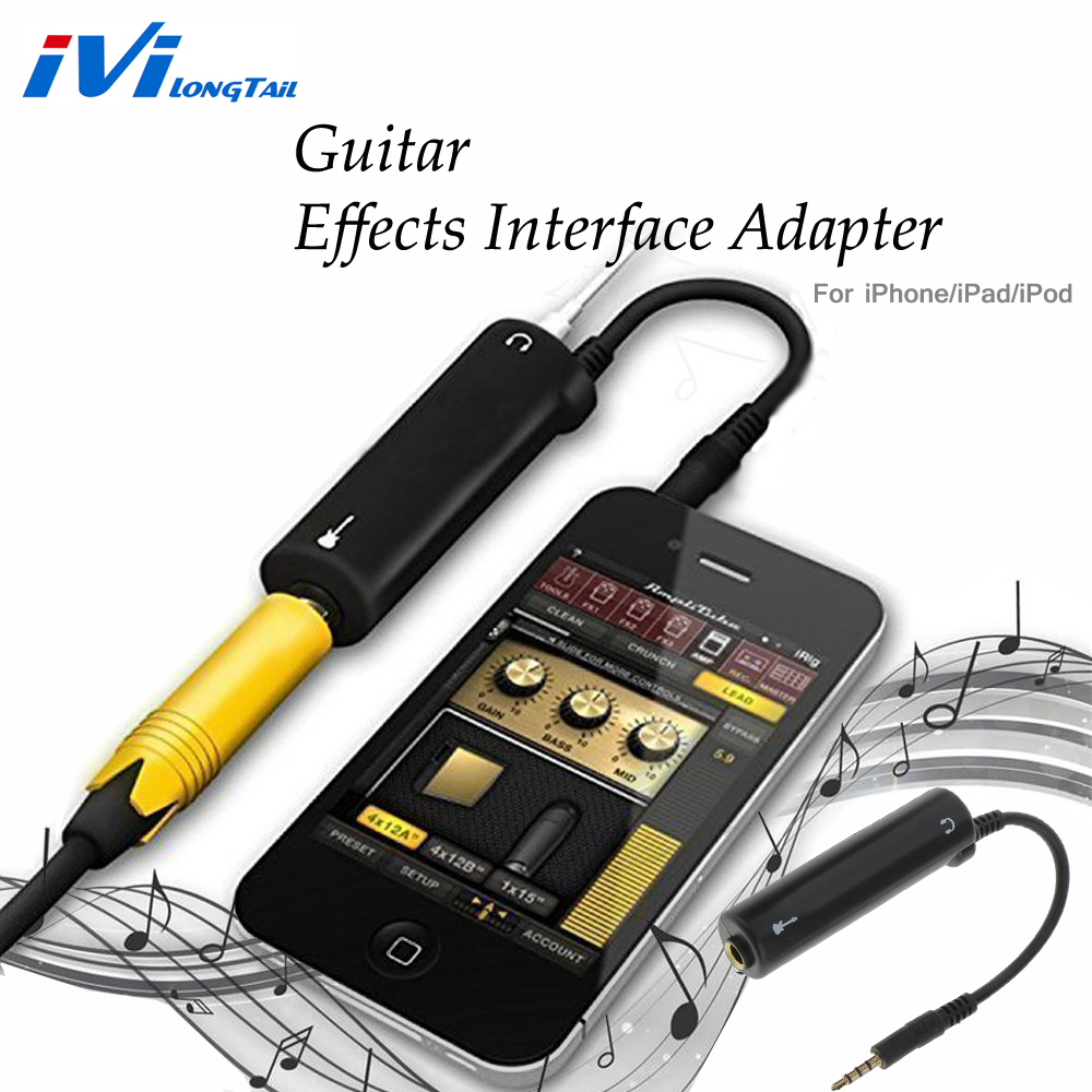 guitar effects interface link audio system amp effects pedal converter cable adapter amplifier. Black Bedroom Furniture Sets. Home Design Ideas