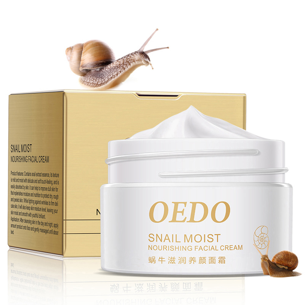 Snail Moist Nourishing Facial Cream Anti Wrinkle Aging  Cream Imported Raw Materials Skin Care Wrinkle Firming Snail Care TSLM2