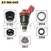 40pieces/set auto parts fuel injector repair kits for 16600 96E01 A46 00 FJ285 for NISSAN (AY RK049)