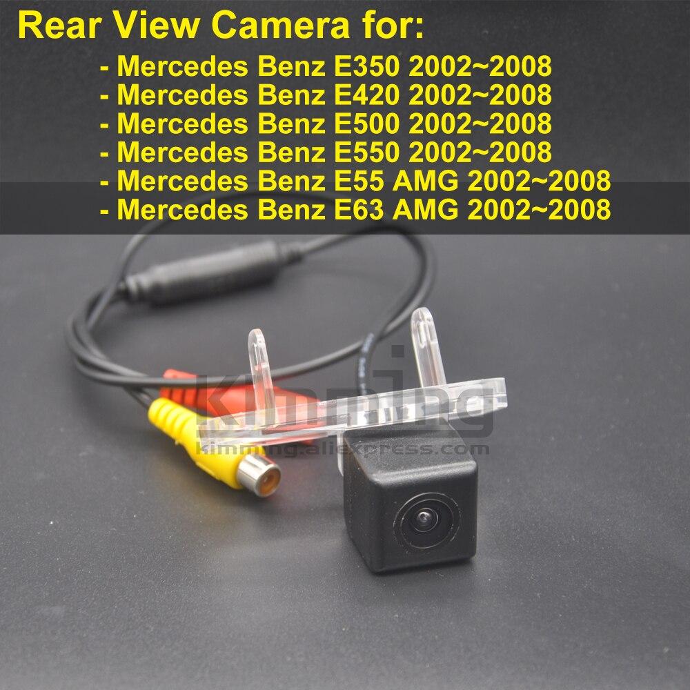 Автомобильная камера заднего вида для Mercedes Benz E350 E420 E500 E550 E55 E63 AMG 2002 2003 2004 2005 2006 2007 2008 Беспроводной резервного копирования Камера