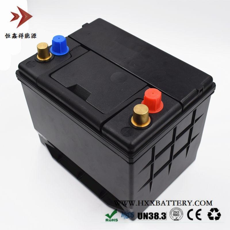 Paquet de batterie de Phosphate de fer de Lithium de 12 V 50AH LiFePo4 LFP avec BMS pour l'énergie solaire de Cycles profonds de batterie de conseil de voiture longue durée