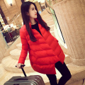 Winter Maternity Coat Trendy Solid Color Pregnant Women Outerwear Warm Jacket Pregnancy Clothing Size M-2XL