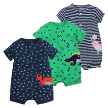 2019 NEW stlye Summer baby boys rompers kids Short sleeve cl