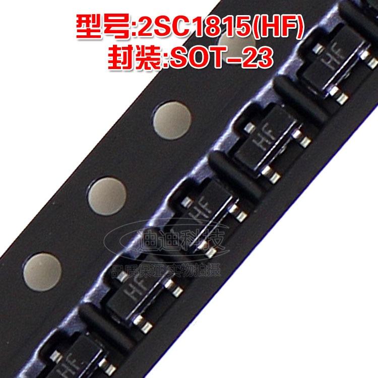 New 2SC1815 SOT23 Silkscreen HF Power Transistor C1815 SOT23 SMD