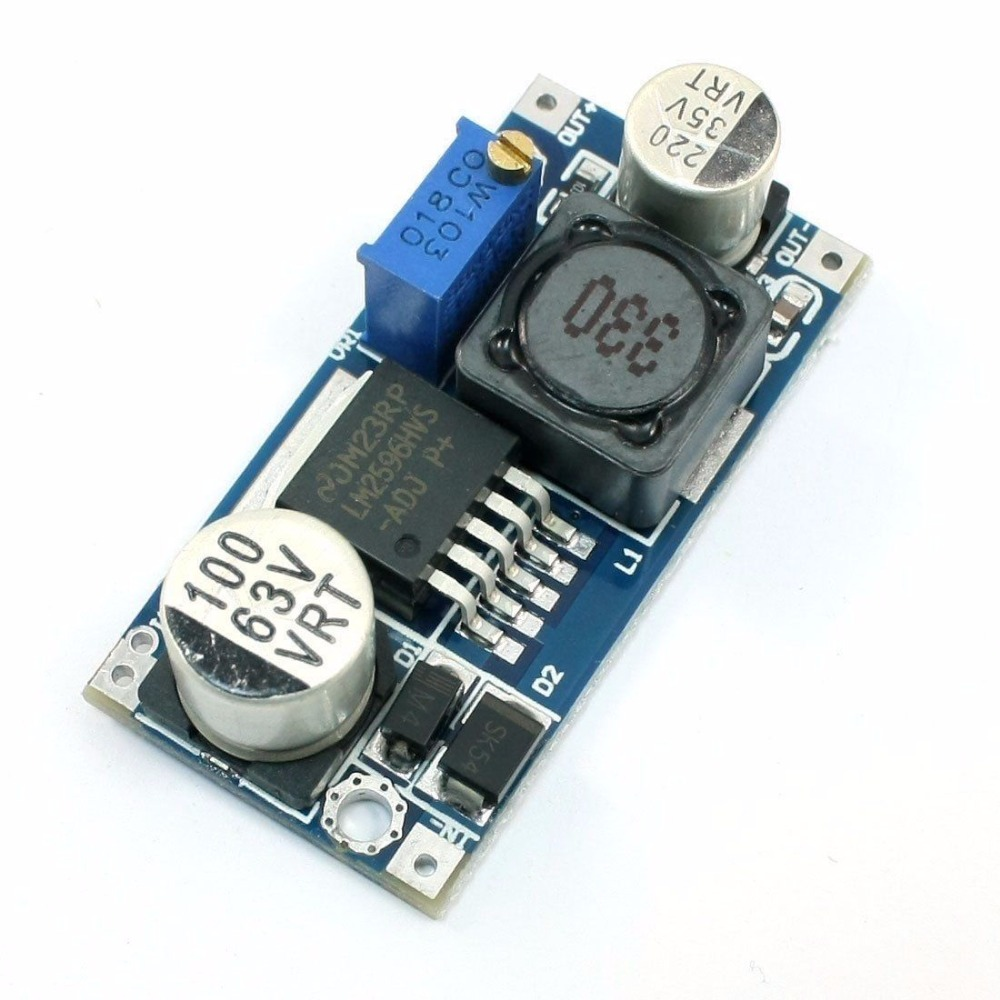 LM2596HVS LM2596HV DC-DC Adjustable Step Down Buck Converter Power Module 4.5-50V To 3-35V
