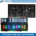 Модуль панели светодиодного экрана P4 256*128 мм 64*32 пикселей 1/16 сканирование внутри помещения 3 в 1 SMD RGB Полноцветный P4 модуль панели светодиодн...