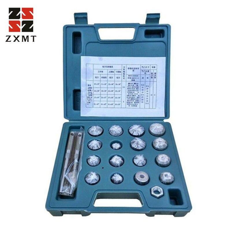 ZXMT Valve Seat Reamer Motorcycle Vale Repair Displacement Cutter Tool Set for Honda Suzuki