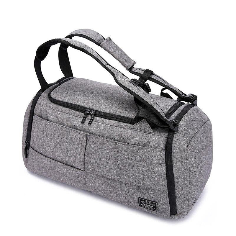 15 inchMultifunction hombres mujer bolsa de Deporte Fitness bolsas mochilas para portátiles de mano de viaje con zapatos bolsillo Yoga bolsa de deporte - 2