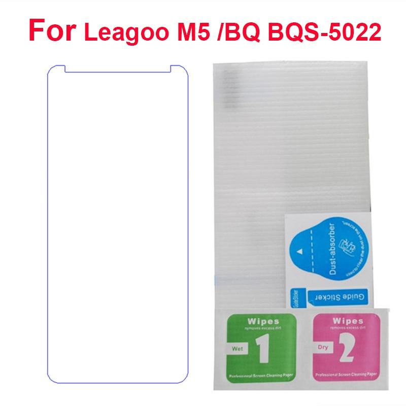 2PC Glass Protector For Leagoo M5 5.0 BQ BQS-5022 Screen Protector Protective Film Explosion-proof for Leagoo M5 Tempered glass