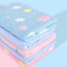 Детская кроватка для младенца коврик для смены подгузников коврик для подгузников хлопок обувь для малышей мультфильм Печать Водонепроницаемый моющийся марлевый коврик BHS003