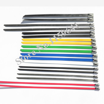 1000PCS/Lot Cable Tie Cable Tieszip Ties stainless steel 304 7.9*250mm
