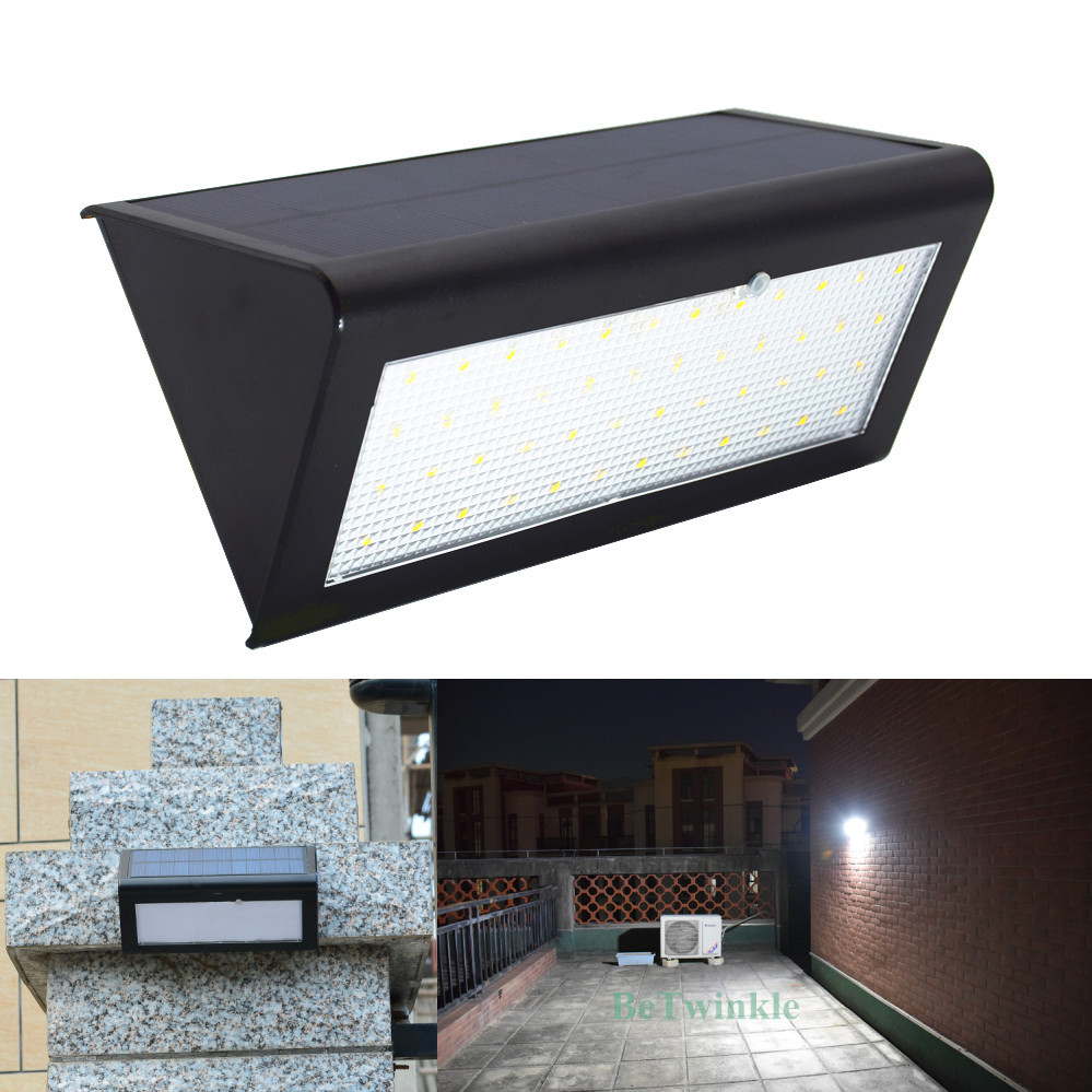 Upgraded Solar Motion Sensor Lights 800LM 48 LEDs Waterproof IP65 Wireless Security Outdoor Garden Lamp Light With 4 Modes