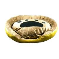 Собака Питомник мягкая собака кровати Щенок Кошка Кровать домашнее животное домик для средней собаки коврик зима теплая подушка для домашн
