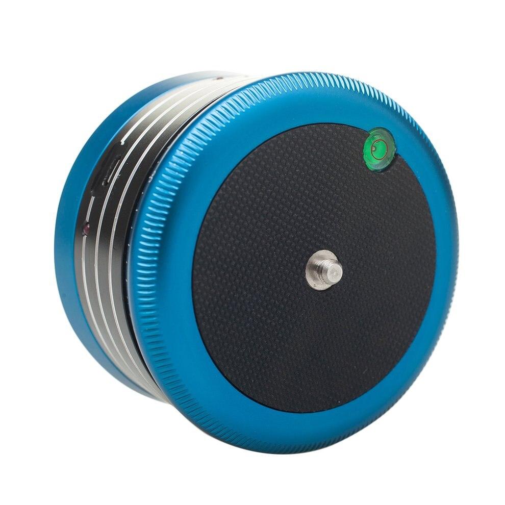 AFI MRA01 Mini Blue Electric Tripod Head 360-Degree Panorama Head Professional Metal Ball Head For GoPro Action Camera Phone afi afi maximum afi the unauthorised biography of afi