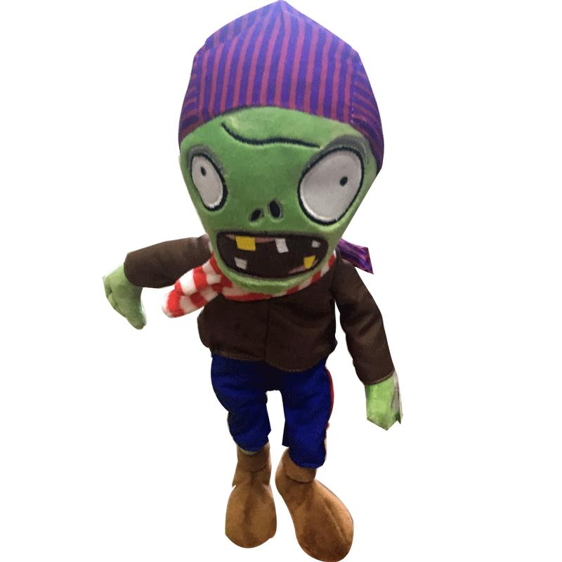 New Arrival Plants vs Zombies Plush Toys 30cm PVZ Pirate Green Zombies Soft Stuffed Toys Game Figure Statue Toy for Kids Gifts 1pcs 48 style pc game plants vs zombies plush toys plants soft plush dolls stuffed doll figure toy for kids children gift m1 8