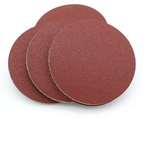 Image 2 - NEW 10PCS Sanding Disc 60 2000 Grit 3 inch 75mm Sandpaper For Dremel Sander Machine Self Stick Abrasive Tools Accessories