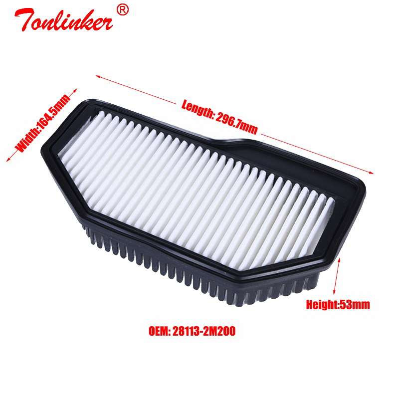 Image 3 - Car Air Filter For Hyundai GENESIS COUPE/ROHENS Coupe 2.0T Model 2012 2013 2014 Year 1Pcs Filter OE 28113 2M200 Car Accessories-in Air Filters from Automobiles & Motorcycles