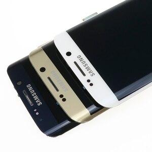 Image 4 - Oryginalny 5.1 wyświetlacz super amoled do SAMSUNG Galaxy s6 krawędzi LCD + rama G925 G925F G925I zamiana digitizera ekranu dotykowego