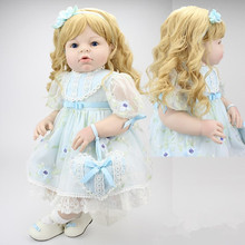 28″ 70cm Vinyl And PP Cotton Silicone Reborn Baby Dolls Real Like Series Emulational Big Size Reborn Babies Clothing Model Girls