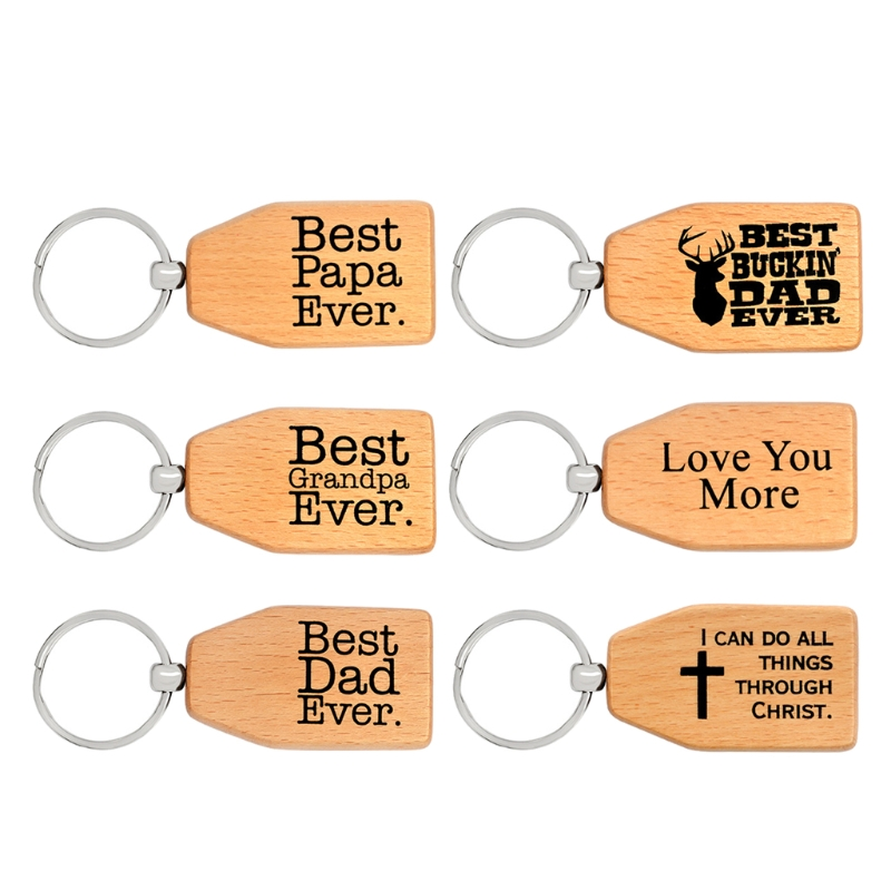 motivational wood keychain key tag memorial gift for dad christmas jewelry gift w77 - What Do I Get My Dad For Christmas