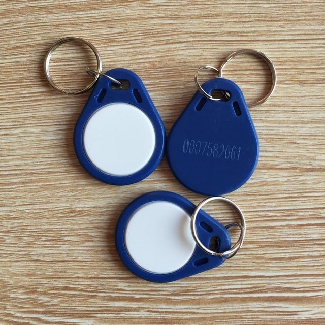 new style 125Khz Blue EM4100 Waterproof ABS ID access control RFID Tokens,rfid keyfob,rfid key