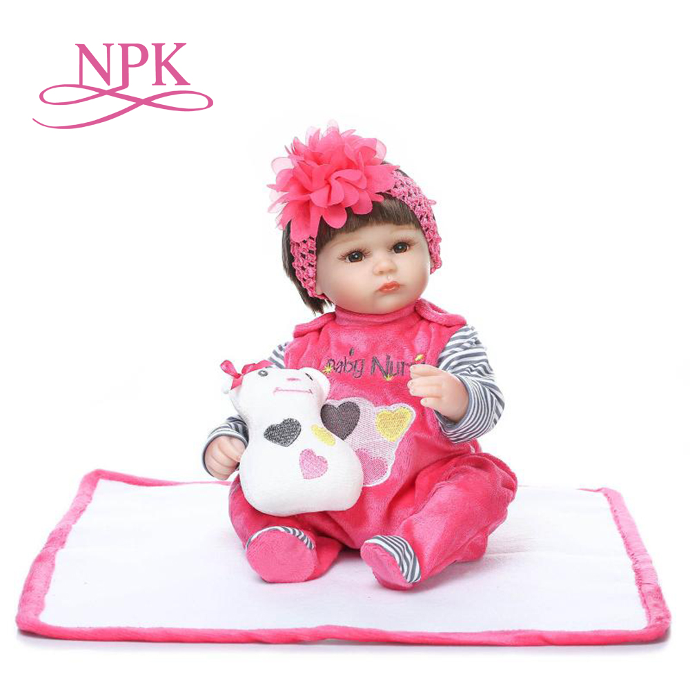 NPK reborn baby dolls lifelike soft lovely premmie baby doll wholesale reborn baby playing toys for