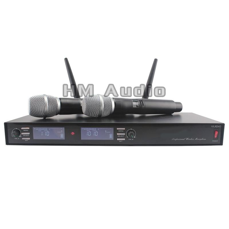 Neues, hochwertiges, professionelles Dual-Wireless-Mikrofonsystem mit - Tragbares Audio und Video