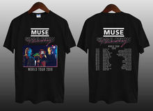MUSE Simulation Theory WORLD TOUR 2019 Mens Black T-Shirt S-3XL T Shirt 2018 New Tee Shirts Printing Top Plus Size