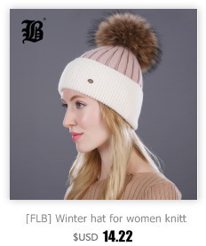 [FLB] Wholesale Real Mink Fur Pom Poms Knitted Hat Ball Beanies Winter Hat For Women Girl 'S Wool Hat Cotton Skullies Female Cap 76