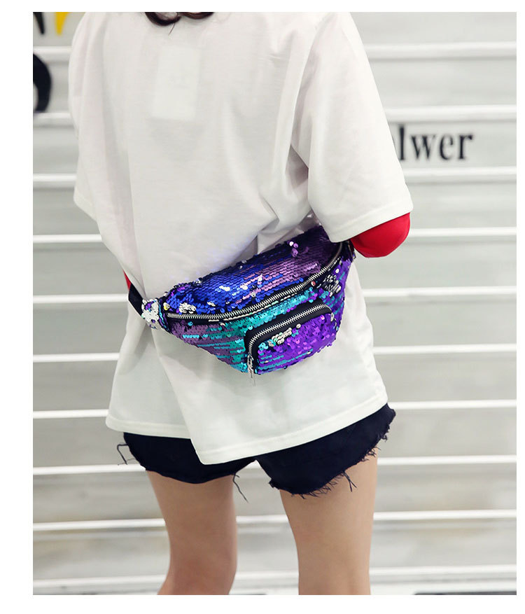 QIUYIN Waterproof New Designer Waist Pack Shoulder Fanny Pack Chest Bag Small Travel Pouch Women 39 s Waist Bag Belt in Waist Packs from Luggage amp Bags
