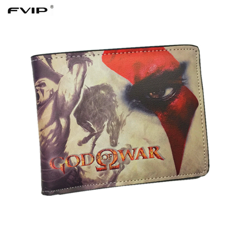 FVIP New Arrival Thin Wallet God of War /LOL / Iron Man / Adventure Time /Harry Potter Wallets With Card Holder Dollar Price new arrival iron