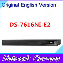 Free shipping in stock DS-7616NI-E2 2SATA 16channel NVR kits for network CCTV camera network video recorder