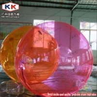 Pink Inflatable pvc color joints water walking ball giant jumbo inflatable water ball cheap water walking ball