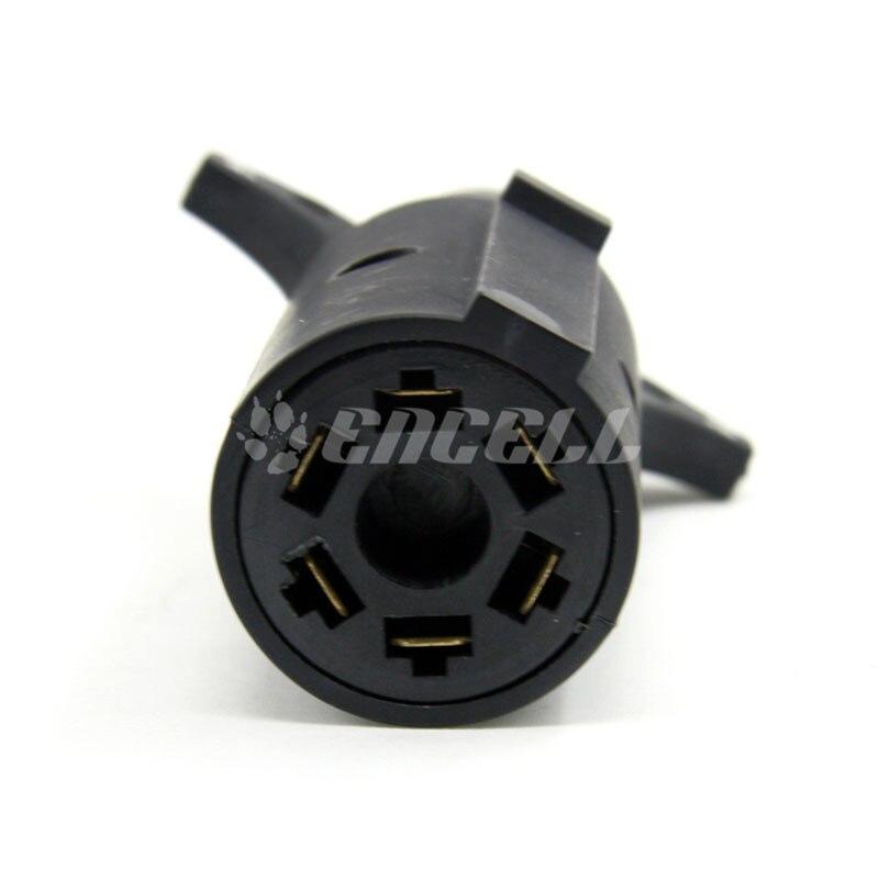 Encell USA 7 Pin Klinge zu 6 Pin Anhänger Adapter Buchse stecker ...