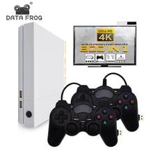 Данные лягушка HD 4 Гб Видео игровая консоль встроенный в 800 классические игры для PS1/GBA/FC максимум до 32 Гб Ретро игровая консоль