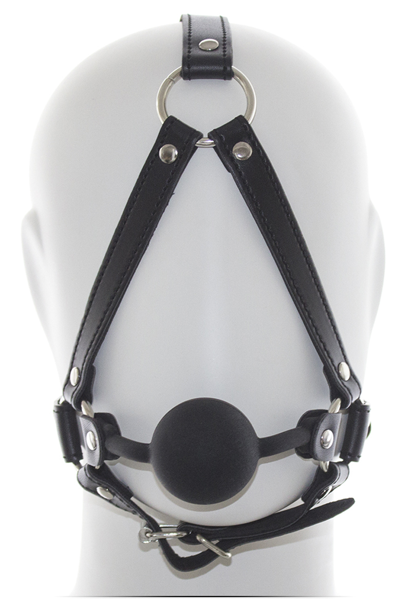 bondage ball fetish gag