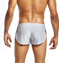 HOT Men Boxer Shorts Low Waist Breathable Casual Cool Solid