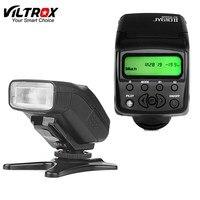 Viltrox JY610II Mini LCD Speedlite Máy Ảnh Flash Light cho sony a9 a6500 a7sii a7rii a7s a7r a6300 a6000 a7 a3000 a58