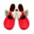 Mary Jane Meninas Do Bebê Flor sapatos de Bebê Sapatos de Bebê de Couro genuíno Mocassins Curva do Ouro Meninas Primeira Walker Criança Moccs