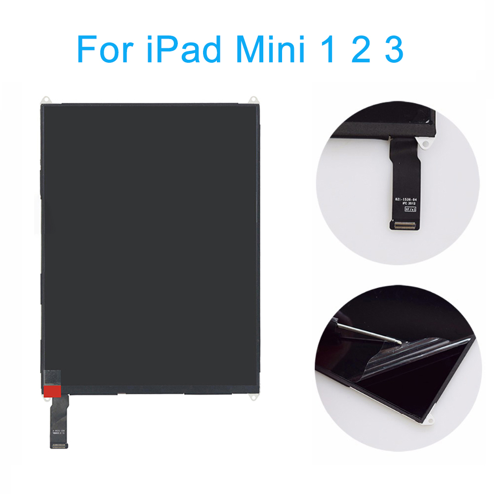 <font><b>LCD</b></font> Display Screen For <font><b>ipad</b></font> <font><b>mini</b></font> A1432 A1454 A1455 for <font><b>iPad</b></font> <font><b>Mini</b></font> <font><b>2</b></font>/3 <font><b>A1489</b></font> A1490 A1491 <font><b>LCD</b></font> Screen Display NO Touch Screen image