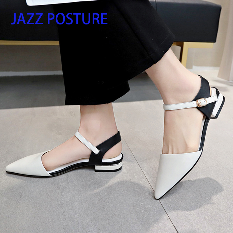 JAZZPOSTURE Sexy Women Buckle Strap Low Heels Pumps Pointed Toe Flock Heels Shoes For Woman Ladies Single Shoes size 35-39 y416 JAZZPOSTURE Sexy Women Buckle Strap Low Heels Pumps Pointed Toe Flock Heels Shoes For Woman Ladies Single Shoes size 35-39 y416
