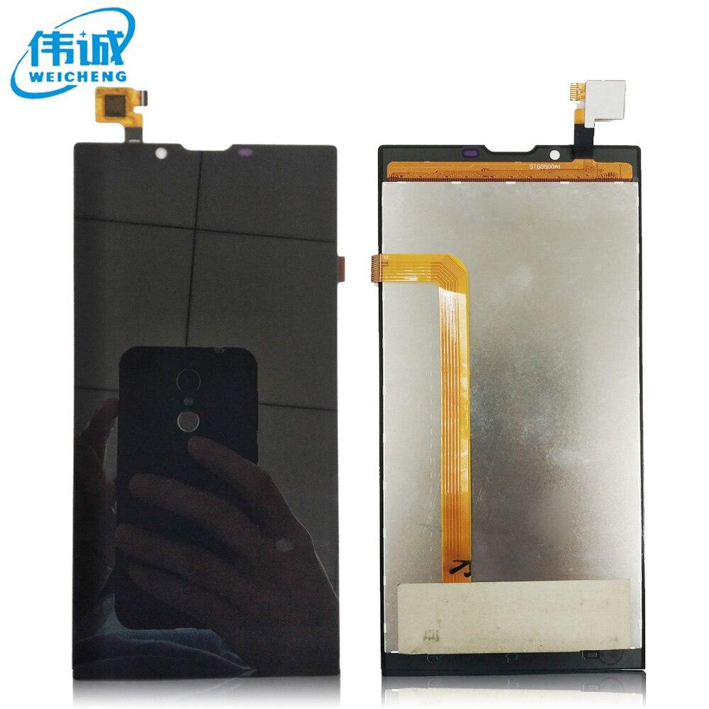 imágenes para 5.5 pulgadas de Pantalla LCD y la Asamblea de Pantalla Táctil Pieza de Reparación Accesorios Móviles Para Archos 55 Platinum + Herramientas