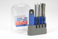 Tamiya 74085 RC Tool (8pcs) Combo Set (Screwdriver&Wrench) Model Craft Tools