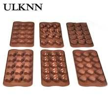 ULKNN силиконовые формы для шоколада 15 компания интегрированные литья сопротивление тепла страдать замораживание Силиконовые лопатки для выпечки формы шоколада