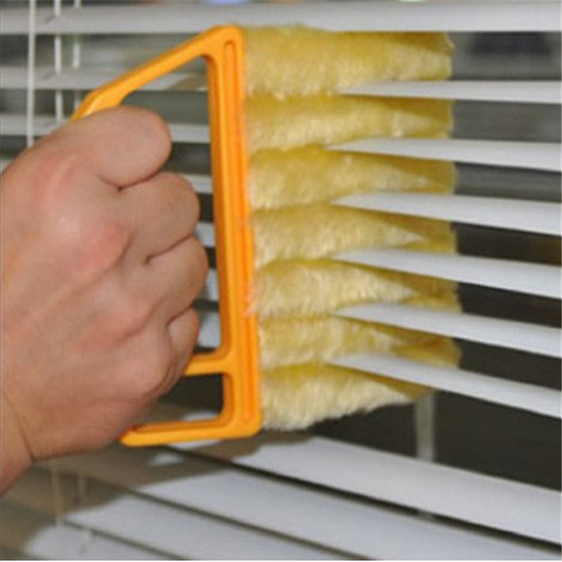 Creative Unpick And Wash Window Blinds Cleaning Air Conditioning Outlet Cleaner Multifunctional Cleaning Brush Apertural 3D