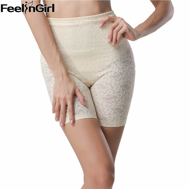 Hourglass Lace High Waist Thigh Butt Lifter With Tummy Control Panties Waist Trainer Enhancer Sexy Body Shaper Women Panties-5A