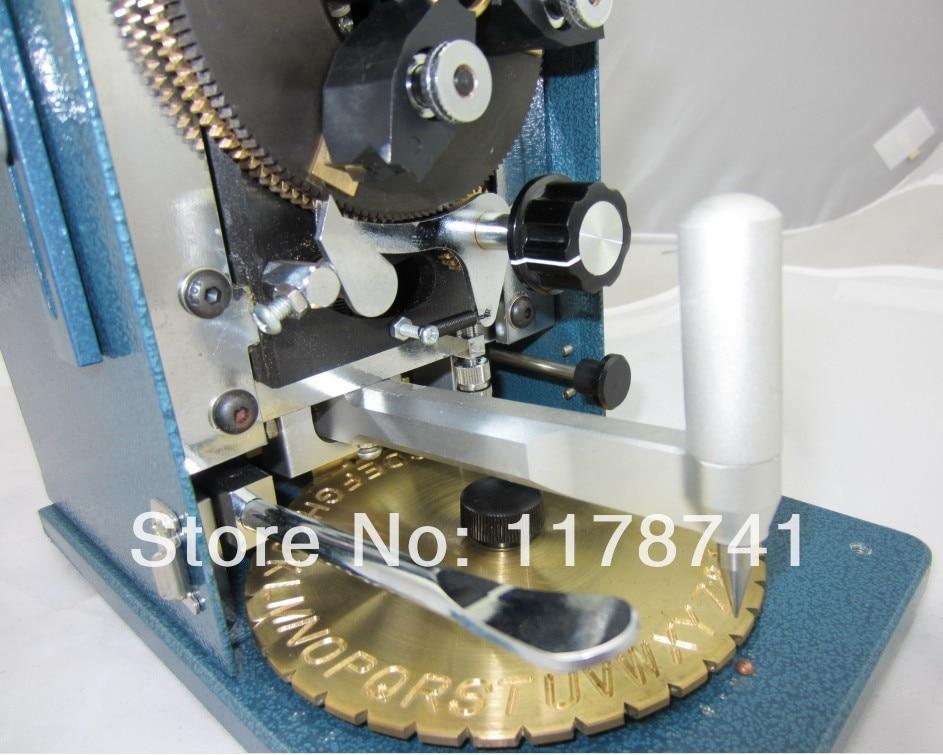Bague en or graveur bague en argent graveur bague en diamant Machine de gravure bijoux faisant la machine