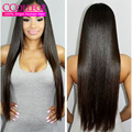 Cheap 8a Straight Brazilian Virgin Hair With Closure 3 Bundles Unprocessed Straight Brazilian Hair With Closure Malibu Dollface