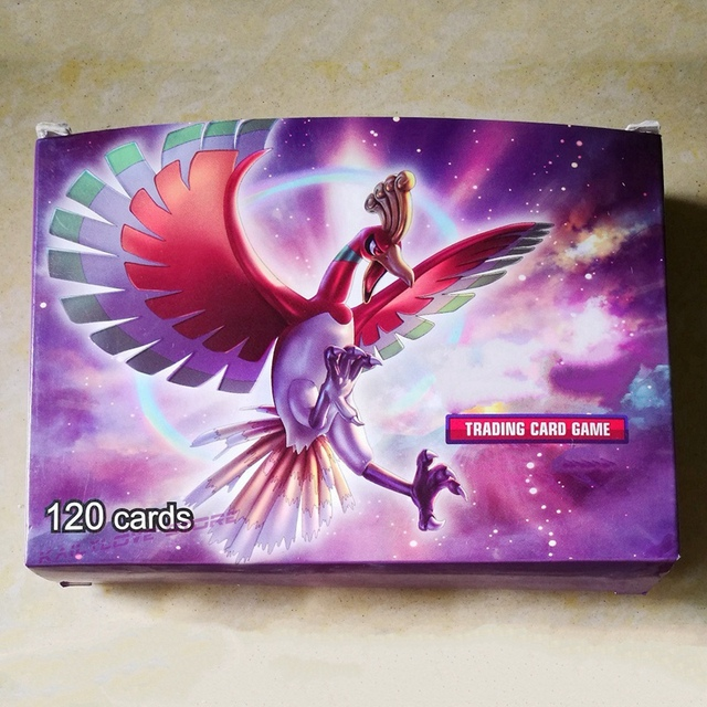 El más nuevo 120 unids/set bola tarjetas modelo monstruo tarjetas juguetes para regalos de cumpleaños del partido Juguetes